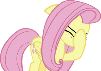 Fluttershy facehoof by IronM17