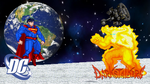 Superman vs Pyron by scott910