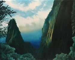 Hawaii - Green Mountains after the thunderstorm by CalciteMink1610