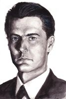 Agent Cooper by Sp00kySqueek