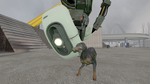 GLaDOS' pet? by Breached-Foundation