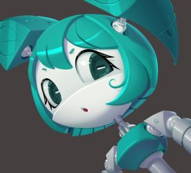 One face a day203 Jenny My Life as a Teenage Robot by Dylean