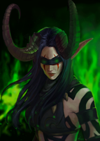 Demon Hunter by Zynthex
