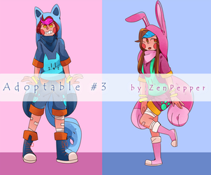Adoptables #3 [closed] by lZenPepperl
