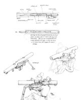 Suppressed mouse firearm by Baron-Engel