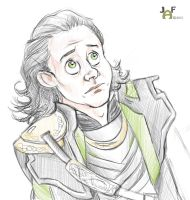 Loki! Don't despair, the earth can still be yours. by lumosbabe