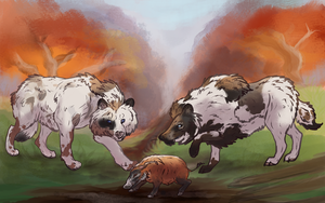 RoM: Foreign pigs by PrinceJackdaw