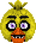 8-Bit Chica (Pay for Use) by Noxious-Croww
