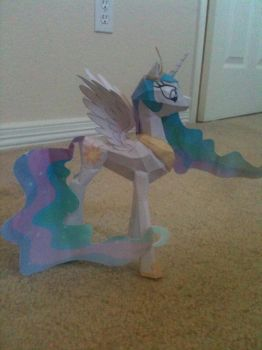 Celestia Papercraft- Side by Icethornstar