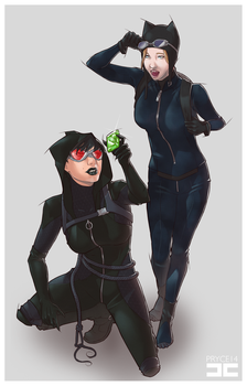 CATWOMAN by Pryce14
