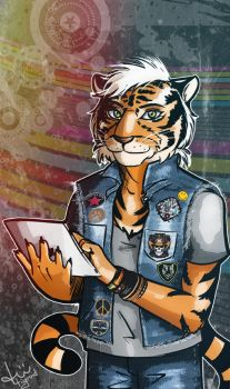 Tiger Empire /commission/ by tiigroid