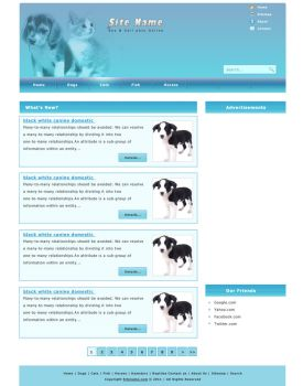Pets Website Design by mesandmes