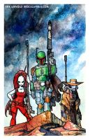 Bountyhunters by lervold