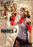 Hunters J - Cosplay Group Preview by Tenaga