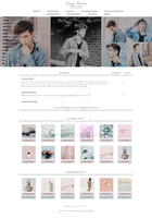 Troye Sivan Gallery Theme by Efruse