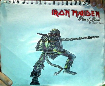 E.#4 + IronM.:Piece of Mindlogo drawing(Unflipped) by TannMann64