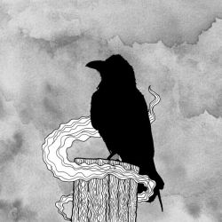Lonely Raven by sonsofvolo