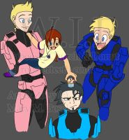 RvB: Muffin Time .:WIP:. by MidNight-Vixen