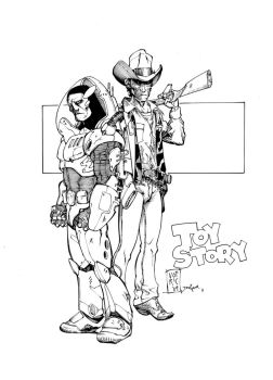 Toy Story Inks by devgear