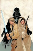 Star Wars: Vader Down #1 Variant Cover by TerryDodson