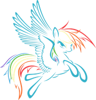 Rainbow Dash by UP1TER