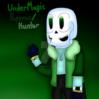 UnderMagic Papyrus (Hunter) by cjc728