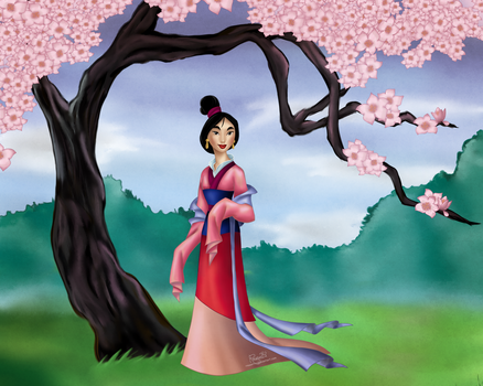 Mulan by Rousetta