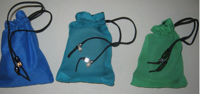 3 Dice Bags by WalterOGrimm