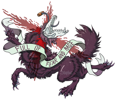 Fate of the Direwolves: Shaggy Dog by Zelaphas