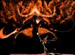LORD OF THE RINGS-BALROG by stevej061069