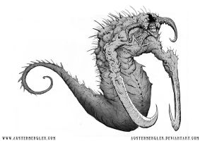 Worm Demon by AustenMengler