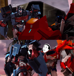 SPOILERS: TFP You don't say? by TyrannosaurusPrime