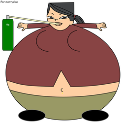 Total Drama Island: Heather inflated by dev-catscratch