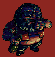 lisa the painful Marty by sawaganiN