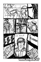 Comic: id page two pencil by slicedguitars