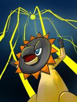 Parabolic Charge by LuckyPupa