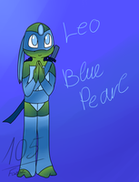 Leo Blue Pearl [Gem Mutants AU] by Foziz105