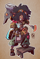 __118 (Chibi Class Blacksmith) by jumodafoca