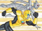 Gold Guardian and Silver Sentinel by RobertMacQuarrie1