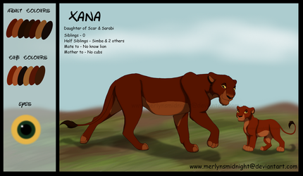 Xana Reference Sheet 2018 by MerlynsMidnight