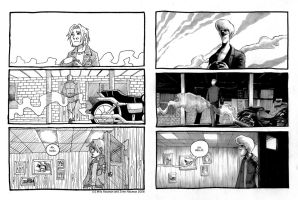 Crossroads REDRAWN Issue 1 Page 6 by MiloNeuman