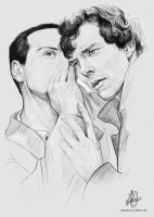 MORIARTY|SHERLOCK by obscurial