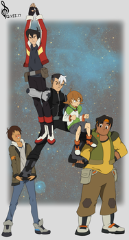 Form Voltron! by redknifewielder