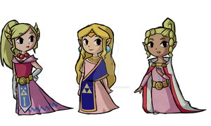 Princess Zelda Wind Waker Concepts by Decapitated-Kittens
