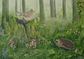 The Lark and the Hedgehog. by SueMArt