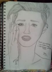 Miley Cyrus - Wrecking Ball by ToxicAngell