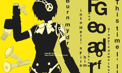 P4 opening style - P3 Aigis by char0118