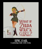 Zelda Epic Fail by Th3-M4ster
