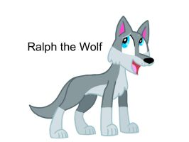 Ralph the Wolf by AhO4464