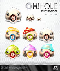 OhHole Icon Design by 7inc